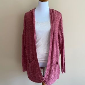 american eagle || slouchy knit open front cardigan